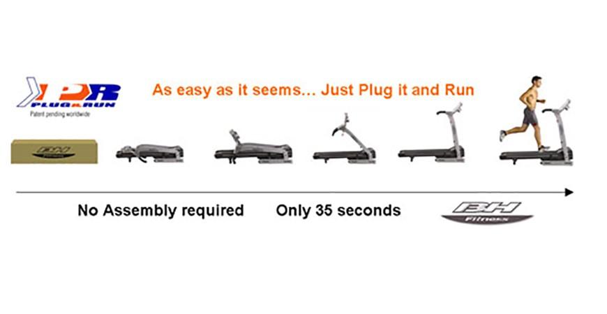 O Sistema Plug&Run reduz as dúvidas de montagem dos clientes em 50%